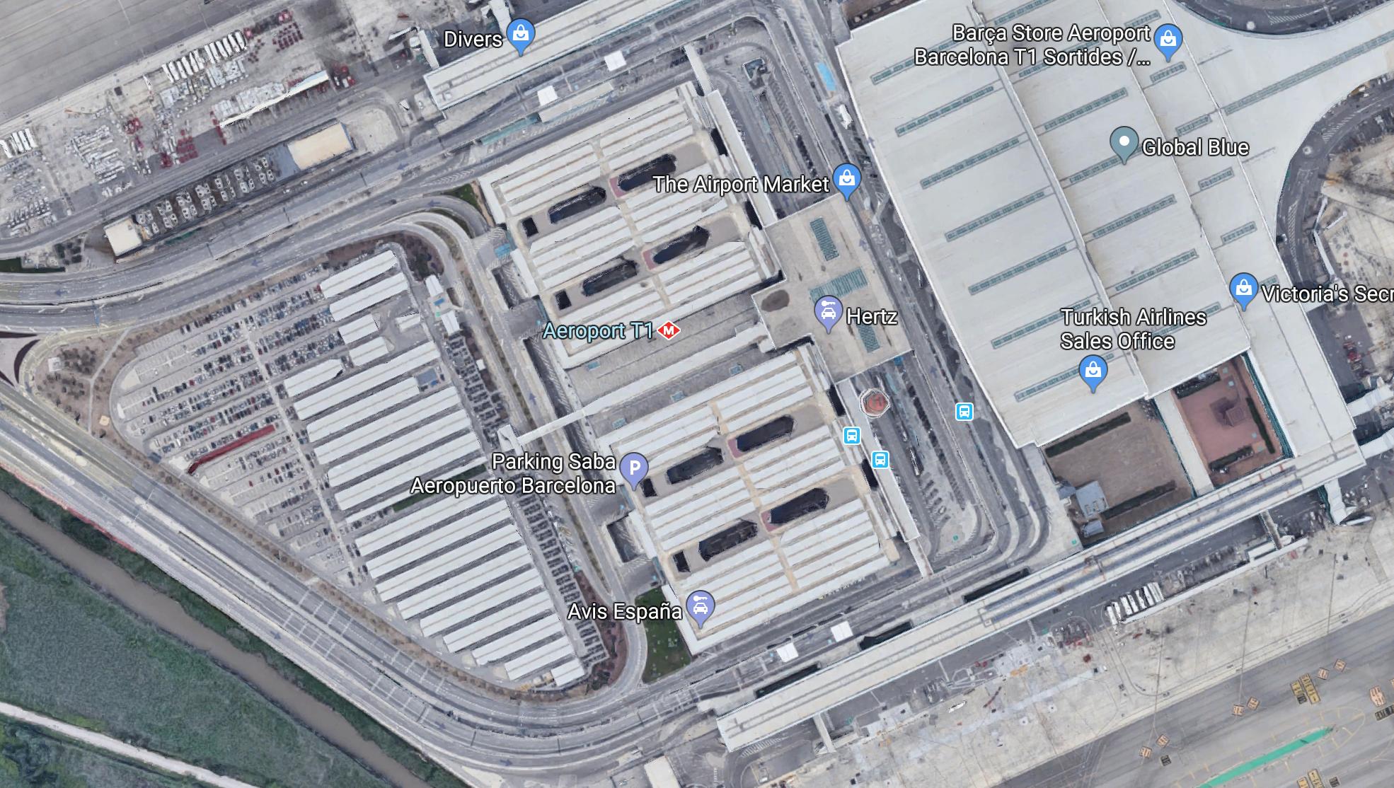 Aeropuerto BCN - Terminal 1