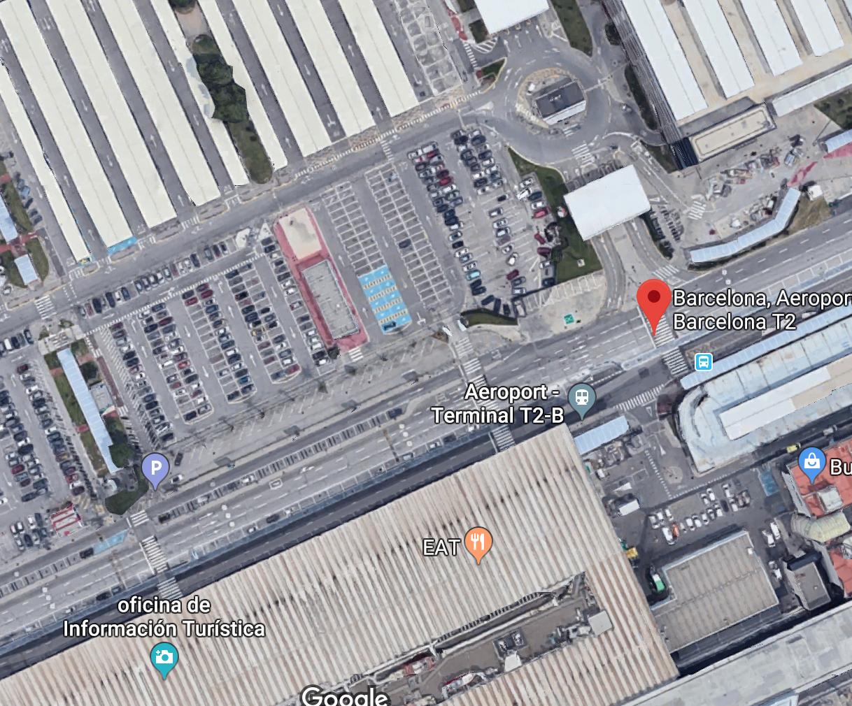 Aeropuerto BCN - Terminal 2